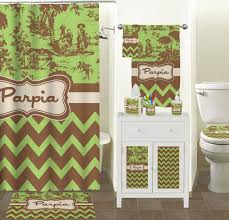 Green Chevron Shower Curtain Green And Brown Chevron Shower Curtain Shower Curtains Ideas