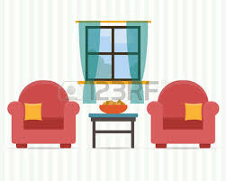 home interior vector interior of home house room background royalty free cliparts