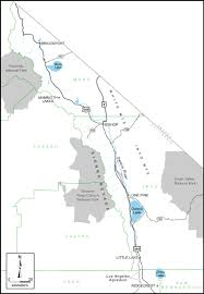Sierra Nevada Mountains Map Eastern Sierra Outreach