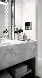 Black And White Bathrooms Ideas by Best 25 Modern Marble Bathroom Ideas On Pinterest Modern
