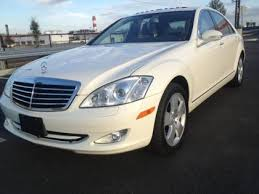 used mercedes s550 4matic for sale export used 2007 mercedes s550 4matic white on black