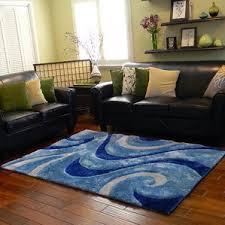 blue swirl rug wayfair