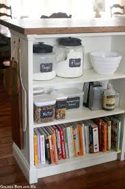 diy kitchen cabinet island ikea hack from a bookshelf the