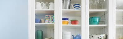 where to buy glass shelves for kitchen cabinets the trick to organizing a kitchen with glass front cabinets