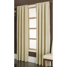 Gold Curtain Shop Allen Roth Parksley 84 In Gold Cotton Rod Pocket Light