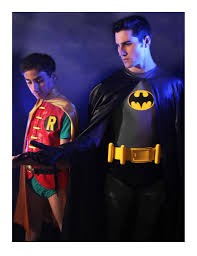classic batman u0026 robin costumes for a high stage play