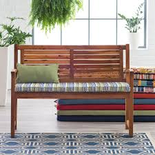 Patio Bench Cushion by Decoration Affordable Geometric Indoor And Outdoor Seat Cushion In