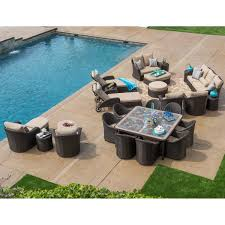 Casual Patio Furniture Sets - seating sets costco