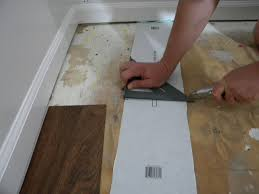Laminate Flooring Over Linoleum Diy Install Vinyl Plank Flooring