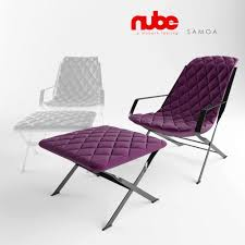 Nube Armchair Nube Samoa Lounge Chair 3d Model Cgtrader