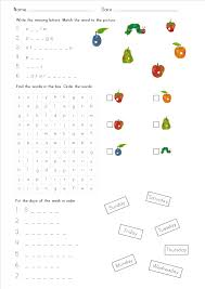 the very hungry caterpillar primary efl resources