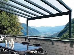pensilina tettoia in policarbonato plexiglass tetto plexiglass per coperture tetto pensilina tettoia modulabile