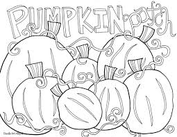 thanksgiving coloring pages doodle alley and pumpkin patch