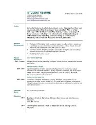 Customer Service Job Resume by Download First Job Resume Template Haadyaooverbayresort Com