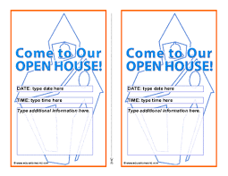 open house invitations education world open house invitation template