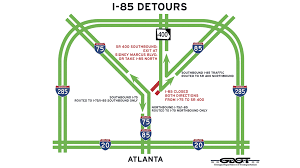 Map Of Atlanta Traffic by Traffic What To Know If You U0027re Headed To Atlanta Wrcbtv Com