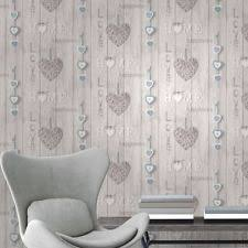fine decor love your home wallpaper blue fd41719 ebay