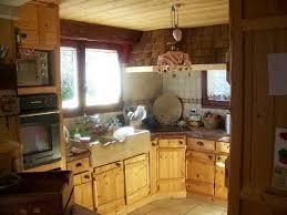 cuisine rustique bois le bois chez vous