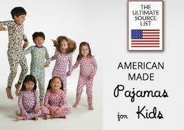the pajamas a made in usa source list usa list