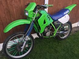 kawasaki motocross bike kawasaki kmx 125 road legal motocross bike in pitsea essex