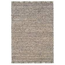 Linon Home Decor Rugs | linon home decor verginia berber dark natural 7 ft 10 in x 10 ft
