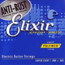 Medium Light Guitar Strings by Elixir 11075 Acoustic Guitar Strings Poly Polyweb Light Medium 12