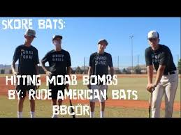 rude american bbcor demo day rude american moab bats how to match skillz with