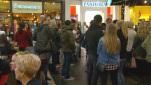 inside castleton square mall on black friday wish tv