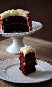 bakeaholic mama red velvet and chocolate marble cake for two