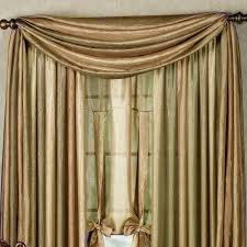 Window Curtains Ombre Semi Sheer Scarf Valance And Window Treatments