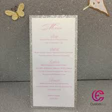 wedding invitations wichita ks online get cheap wedding card invitation silver and pink