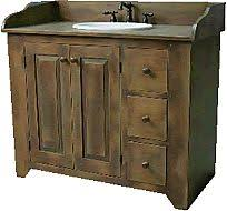Cottage Bathroom Vanities by Primitive Country Bathrooms Vintage Country Cottage Bathroom
