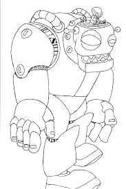 mechanical robots coloring pages robot coloring pages ikids