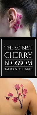 the 50 best cherry blossom tattoos inked tattooblend
