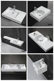 Narrow Bathroom Sink by Long Narrow Bathroom Sink Rectangle Shape Wash Sink Buy Long