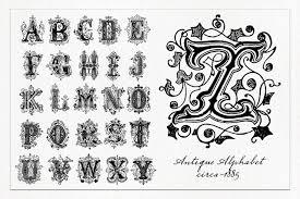 decorative alphabet 1 photoshop brushes 2 lil u0027 owls studio