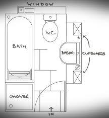 Tiny Bathroom Floor Plans Beautiful Small Bathroom With Shower Floor Plans 12 Images