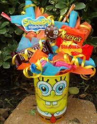 Spongebob Centerpiece Decorations by Plankton Gift Bags Complete Tutorial I Think I U0027ll Make These Out