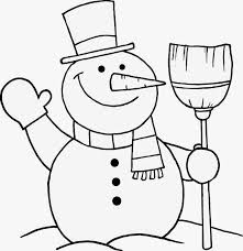 free printable snowman coloring pages kids snapsite