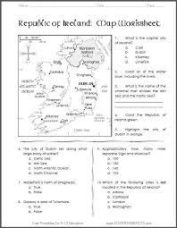 map worksheets for kids worksheets