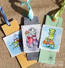 halloween bookmarks 322 halloween bookmark trio imagine crafts mischelle smith