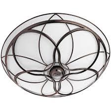 chrome bathroom fan light