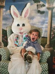 my easter bunny 15 vintage easter bunny pics that will give you nightmares