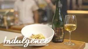 cooking carbonara with carlo mirarchi and pairing it with a funky