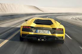 lamborghini modified lamborghini aventador s new iconic design features focused on