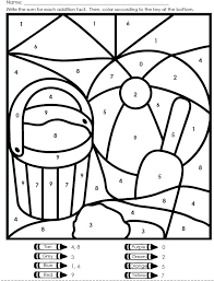 easter coloring pages numbers coloring pages color by number math coloring sheets for kindergarten