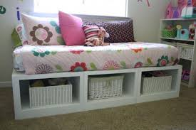 Plans For Twin Platform Bed With Storage by Ana White Storage Daybed Diy Projects