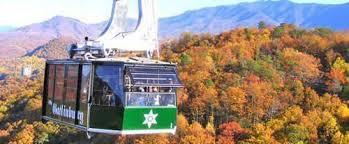 Chair Lift In Gatlinburg Tn Gatlinburg Pigeon Forge Area Tennessee Attractions U2013 Aerial Trams