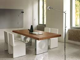 minimalist modern dining tables white granite floor simple granite