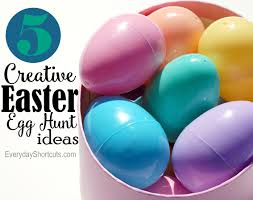 easter egg hunt ideas creative easter egg hunt ideas everyday shortcuts